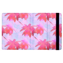 Palm Trees Paradise Pink Pastel Apple Ipad Pro 12 9   Flip Case by CrypticFragmentsColors
