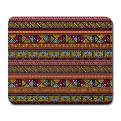 Traditional Africa Border Wallpaper Pattern Colored 2 Large Mousepads by EDDArt