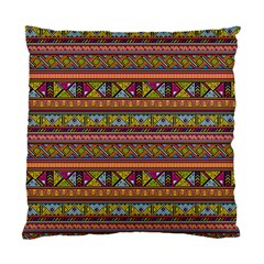 Traditional Africa Border Wallpaper Pattern Colored 2 Standard Cushion Case (one Side) by EDDArt