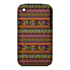 Traditional Africa Border Wallpaper Pattern Colored 2 Iphone 3s/3gs by EDDArt
