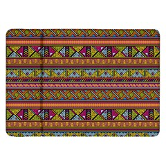 Traditional Africa Border Wallpaper Pattern Colored 2 Samsung Galaxy Tab 8 9  P7300 Flip Case by EDDArt