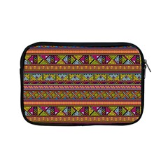 Traditional Africa Border Wallpaper Pattern Colored 2 Apple Ipad Mini Zipper Cases by EDDArt