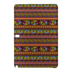 Traditional Africa Border Wallpaper Pattern Colored 2 Samsung Galaxy Tab Pro 10 1 Hardshell Case by EDDArt