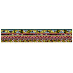 Traditional Africa Border Wallpaper Pattern Colored 2 Large Flano Scarf  by EDDArt