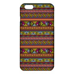 Traditional Africa Border Wallpaper Pattern Colored 2 Iphone 6 Plus/6s Plus Tpu Case by EDDArt