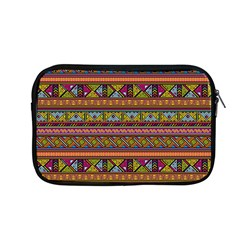 Traditional Africa Border Wallpaper Pattern Colored 2 Apple Macbook Pro 13  Zipper Case by EDDArt