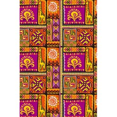 Traditional Africa Border Wallpaper Pattern Colored 3 5 5  X 8 5  Notebooks by EDDArt