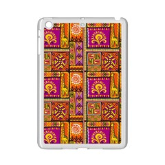 Traditional Africa Border Wallpaper Pattern Colored 3 Ipad Mini 2 Enamel Coated Cases