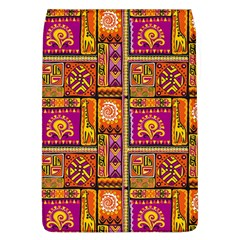 Traditional Africa Border Wallpaper Pattern Colored 3 Flap Covers (l)