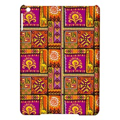 Traditional Africa Border Wallpaper Pattern Colored 3 Ipad Air Hardshell Cases