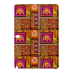 Traditional Africa Border Wallpaper Pattern Colored 3 Samsung Galaxy Tab Pro 10 1 Hardshell Case by EDDArt