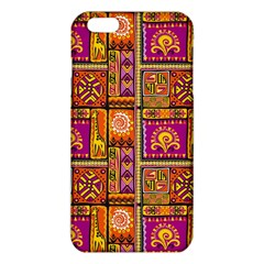 Traditional Africa Border Wallpaper Pattern Colored 3 Iphone 6 Plus/6s Plus Tpu Case by EDDArt