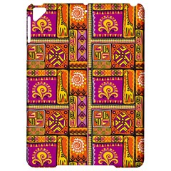 Traditional Africa Border Wallpaper Pattern Colored 3 Apple Ipad Pro 9 7   Hardshell Case by EDDArt