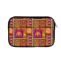 Traditional Africa Border Wallpaper Pattern Colored 3 Apple Macbook Pro 13  Zipper Case by EDDArt
