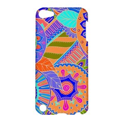 Pop Art Paisley Flowers Ornaments Multicolored 3 Apple Ipod Touch 5 Hardshell Case by EDDArt