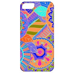 Pop Art Paisley Flowers Ornaments Multicolored 3 Apple Iphone 5 Classic Hardshell Case by EDDArt