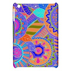 Pop Art Paisley Flowers Ornaments Multicolored 3 Apple Ipad Mini Hardshell Case by EDDArt