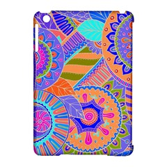 Pop Art Paisley Flowers Ornaments Multicolored 3 Apple Ipad Mini Hardshell Case (compatible With Smart Cover) by EDDArt