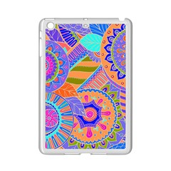 Pop Art Paisley Flowers Ornaments Multicolored 3 Ipad Mini 2 Enamel Coated Cases by EDDArt