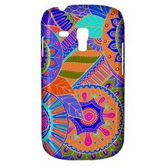 Pop Art Paisley Flowers Ornaments Multicolored 3 Samsung Galaxy S3 Mini I8190 Hardshell Case by EDDArt