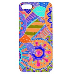 Pop Art Paisley Flowers Ornaments Multicolored 3 Apple Iphone 5 Hardshell Case With Stand by EDDArt