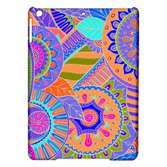 Pop Art Paisley Flowers Ornaments Multicolored 3 Ipad Air Hardshell Cases by EDDArt
