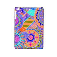 Pop Art Paisley Flowers Ornaments Multicolored 3 Ipad Mini 2 Hardshell Cases by EDDArt
