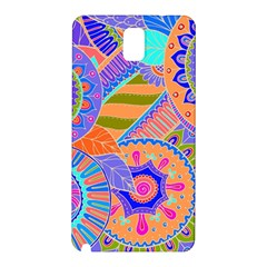 Pop Art Paisley Flowers Ornaments Multicolored 3 Samsung Galaxy Note 3 N9005 Hardshell Back Case