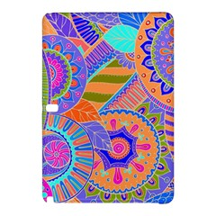 Pop Art Paisley Flowers Ornaments Multicolored 3 Samsung Galaxy Tab Pro 10 1 Hardshell Case