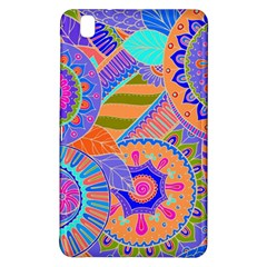 Pop Art Paisley Flowers Ornaments Multicolored 3 Samsung Galaxy Tab Pro 8 4 Hardshell Case by EDDArt