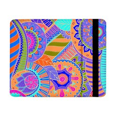 Pop Art Paisley Flowers Ornaments Multicolored 3 Samsung Galaxy Tab Pro 8 4  Flip Case