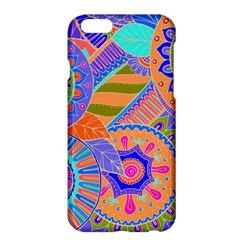 Pop Art Paisley Flowers Ornaments Multicolored 3 Apple Iphone 6 Plus/6s Plus Hardshell Case by EDDArt