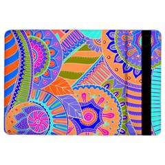 Pop Art Paisley Flowers Ornaments Multicolored 3 Ipad Air 2 Flip by EDDArt