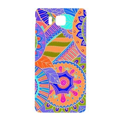 Pop Art Paisley Flowers Ornaments Multicolored 3 Samsung Galaxy Alpha Hardshell Back Case by EDDArt