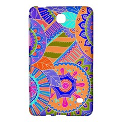 Pop Art Paisley Flowers Ornaments Multicolored 3 Samsung Galaxy Tab 4 (7 ) Hardshell Case  by EDDArt