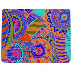 Pop Art Paisley Flowers Ornaments Multicolored 3 Jigsaw Puzzle Photo Stand (rectangular) by EDDArt