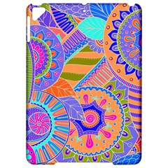 Pop Art Paisley Flowers Ornaments Multicolored 3 Apple Ipad Pro 9 7   Hardshell Case by EDDArt