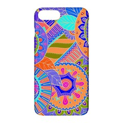 Pop Art Paisley Flowers Ornaments Multicolored 3 Apple Iphone 7 Plus Hardshell Case