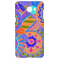 Pop Art Paisley Flowers Ornaments Multicolored 3 Samsung C9 Pro Hardshell Case  by EDDArt
