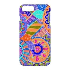 Pop Art Paisley Flowers Ornaments Multicolored 3 Apple Iphone 8 Plus Hardshell Case