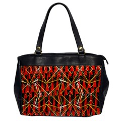Red Triangles Zig Zags Many Layers Created By Flipstylezdesigns Office Handbags