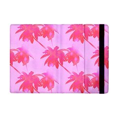 Palm Trees Pink Paradise Apple Ipad Mini Flip Case by CrypticFragmentsColors