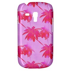 Palm Trees Pink Paradise Samsung Galaxy S3 Mini I8190 Hardshell Case by CrypticFragmentsColors