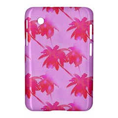 Palm Trees Pink Paradise Samsung Galaxy Tab 2 (7 ) P3100 Hardshell Case  by CrypticFragmentsColors