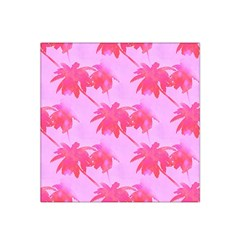 Palm Trees Pink Paradise Satin Bandana Scarf by CrypticFragmentsColors