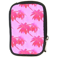Palm Trees Pink Paradise Compact Camera Cases by CrypticFragmentsColors