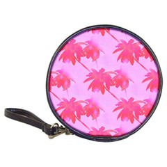 Palm Trees Pink Paradise Classic 20 Cd Wallets by CrypticFragmentsColors