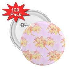 Palm Trees Tropical Summer Heat 2 25  Buttons (100 Pack)  by CrypticFragmentsColors