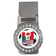 United Football Championship Hosting 2026 Soccer Ball Logo Canada Mexico Usa Money Clips (cz)  by yoursparklingshop