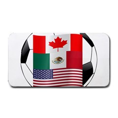United Football Championship Hosting 2026 Soccer Ball Logo Canada Mexico Usa Medium Bar Mats by yoursparklingshop